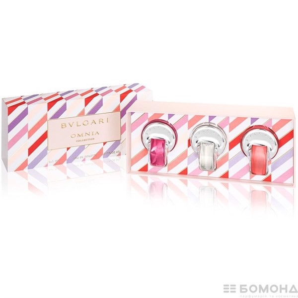 Sét nước hoa BVLGARI x 3 chai ( Pink Sapphire 5ml + Omnia Crystalline 5ml + Omnia Coral 5ml )