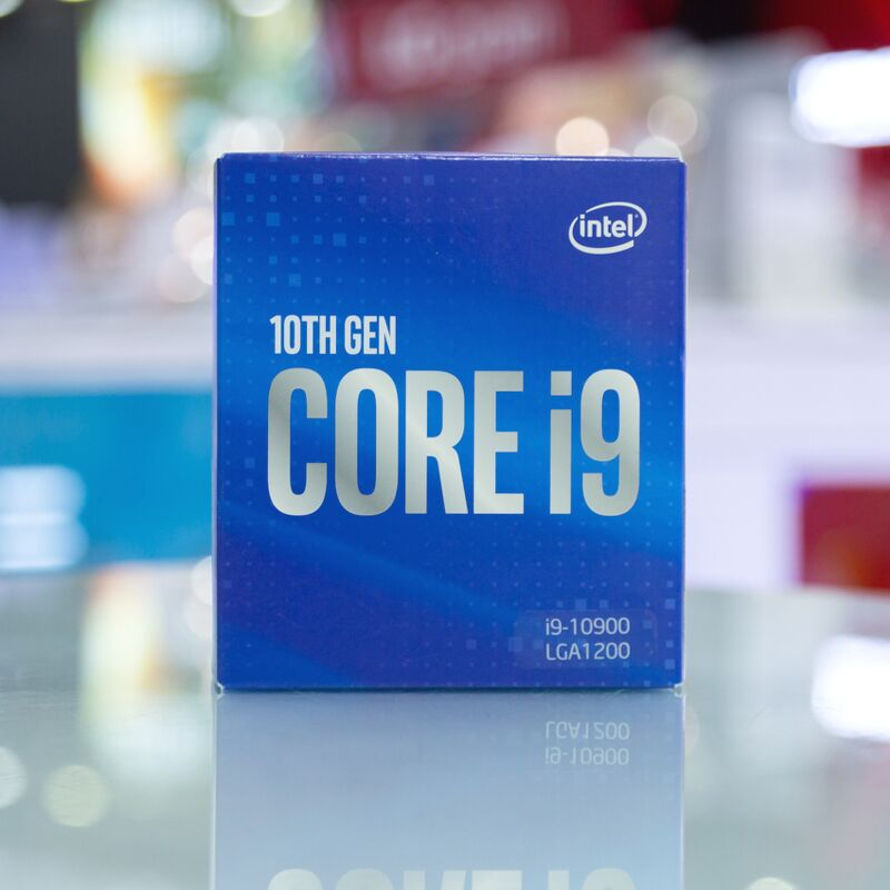 CPU Intel Core i9-10900 (20M Cache, 2.8 GHz up to 5.2 GHz, 10C20T, Socket 1200, Comet Lake-S)
