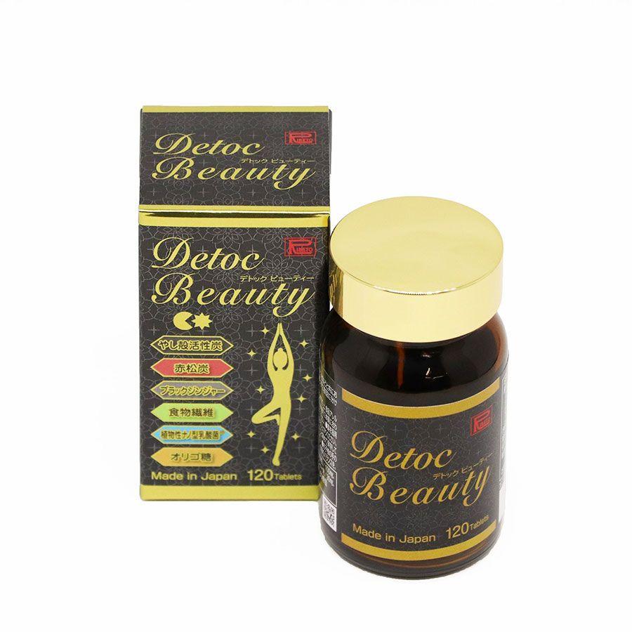 Viên uống Detoc Beauty - Thải độc kép gan, da, đường ruột, hỗ trợ điều trị bệnh tiểu đường