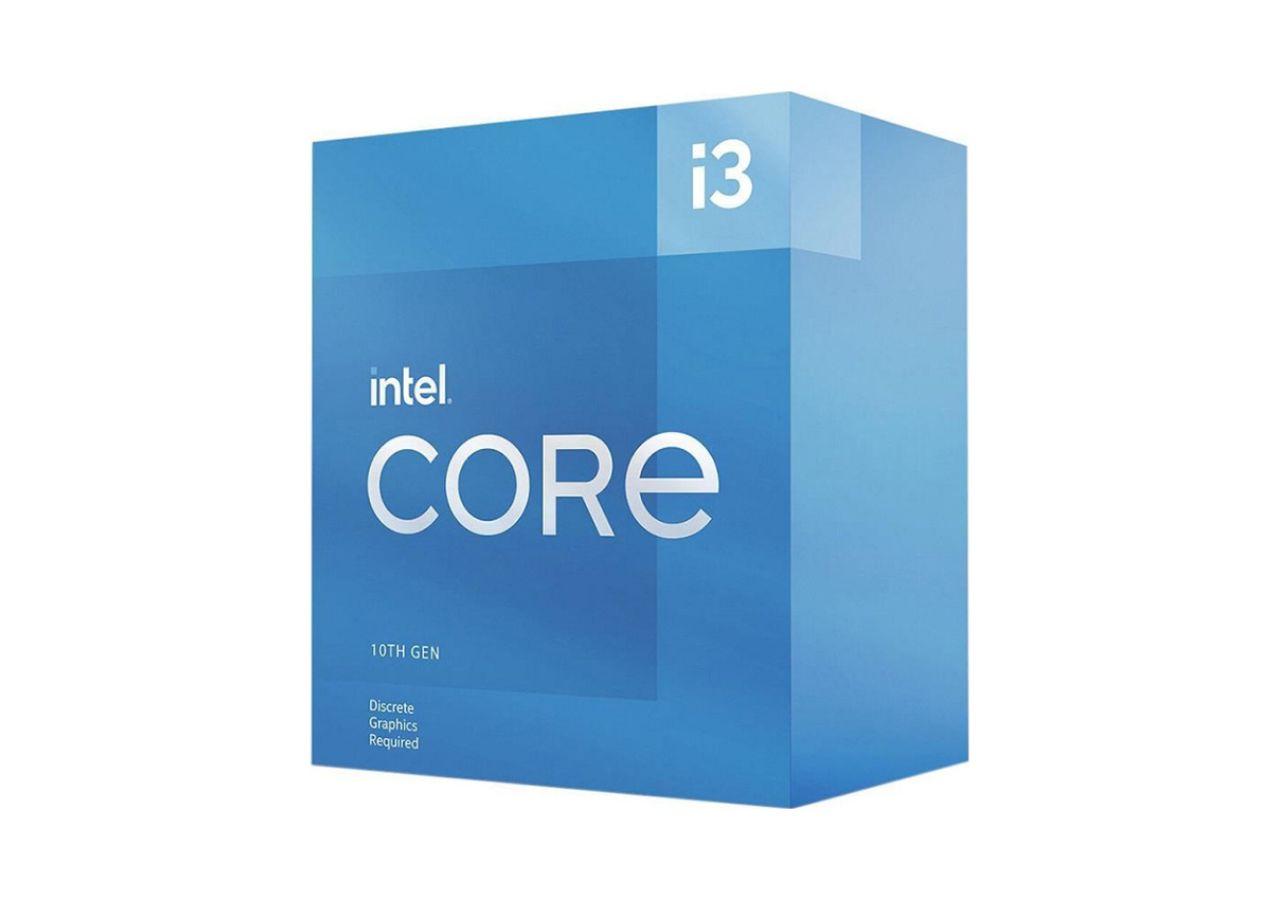 CPU Intel Core i3 10105F (3.7GHz turbo up to 4.4Ghz, 4 nhân 8 luồng, 6MB Cache, 65W) - Socket Intel LGA 1200