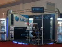 BARCLAYS booths