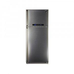 شارب (SJ-PC48A(ST ثلاجة 16قدم لتر3842 باب ديجيتال نوفروست بلازما استانلس