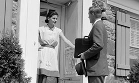 The Rise of the Journalist as a Door to Door Salesman?