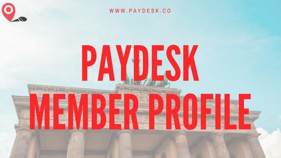 paydesk Member Profile