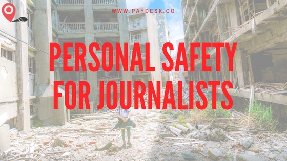 Personal Safety for Journalists