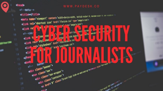 Cyber Security for Journalists