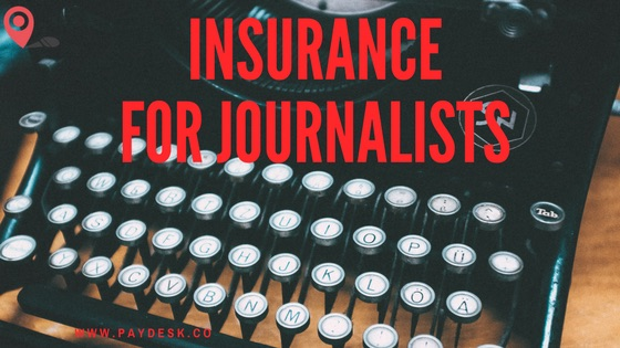 Insurance for Journalists