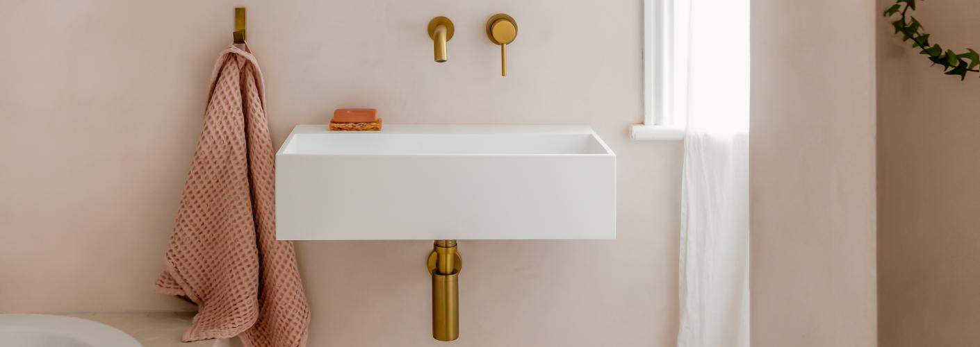 Tadelakt: een badkamer zonder tegels