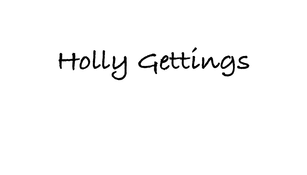 holly Gettings's Signature