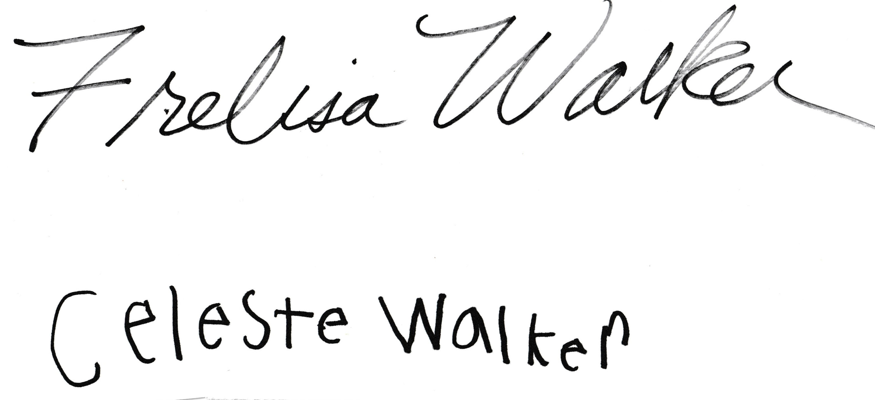 Frelisa Walker's Signature