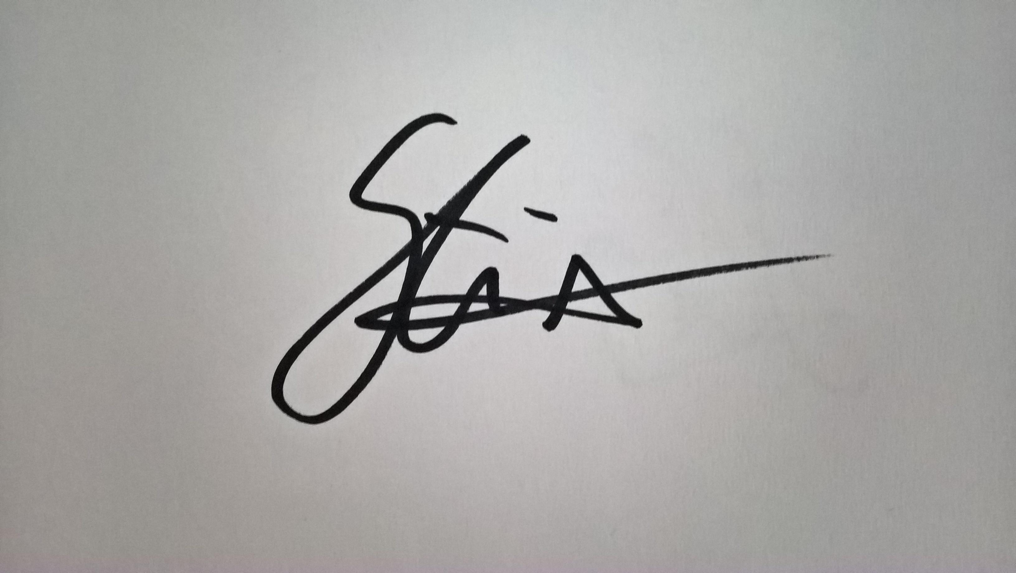 Constantina Seracin's Signature