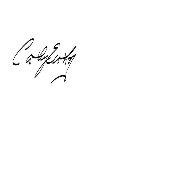 Cathy Enthof's Signature
