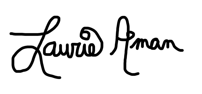 Laurie aman's Signature