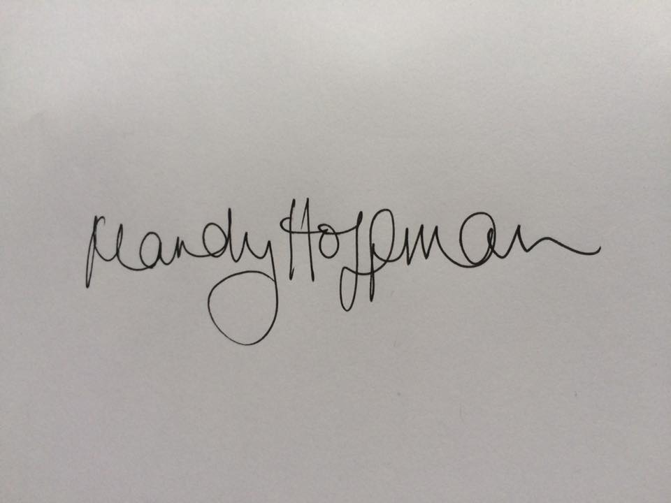 Mandy Hoffman's Signature