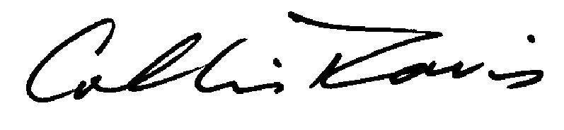 collis davis's Signature