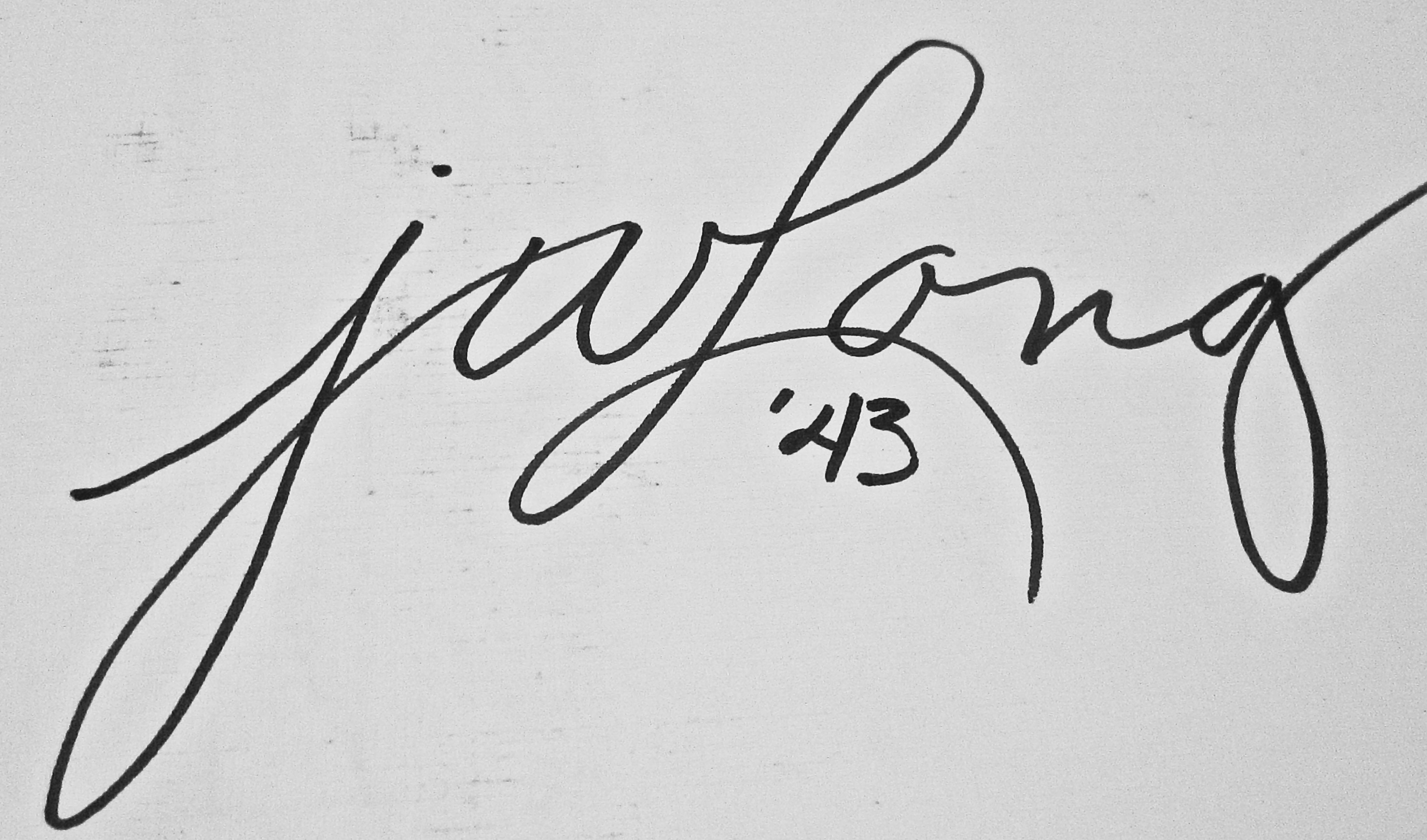 Janet W.  Long's Signature