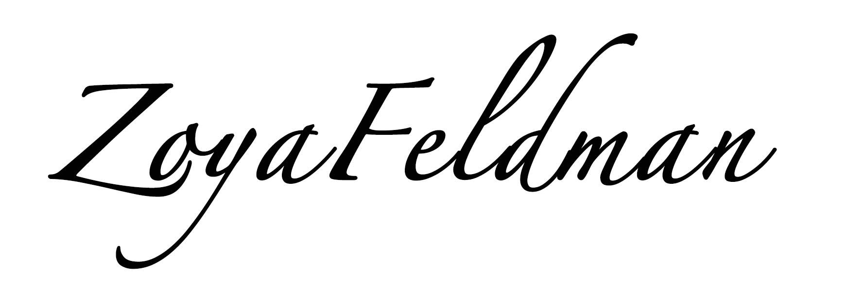 Zoya Feldman's Signature