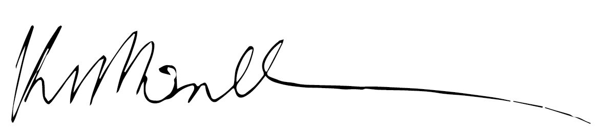 Kathryn McDonnell's Signature