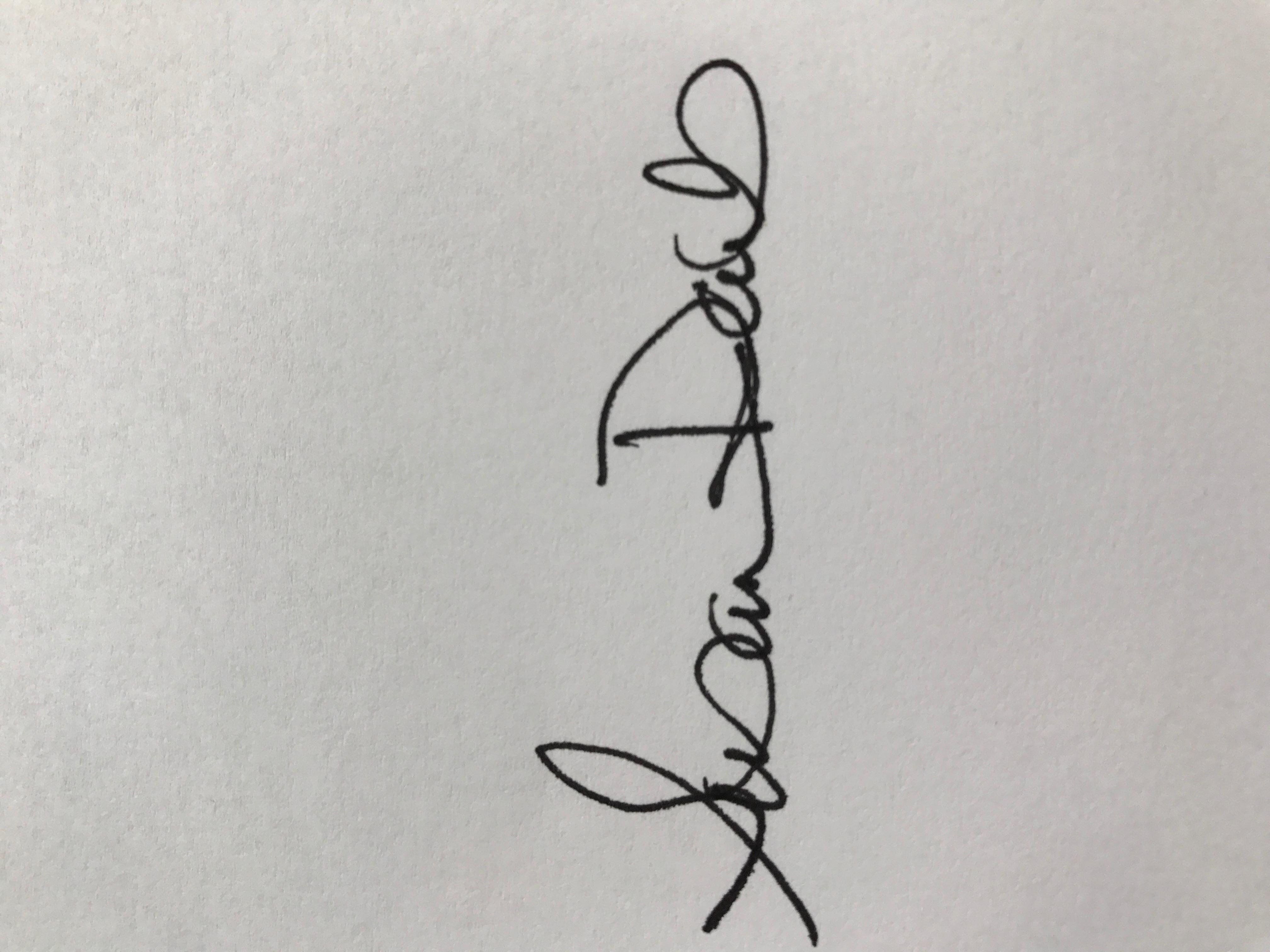 susan daub's Signature