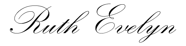 ruth Evelyn's Signature