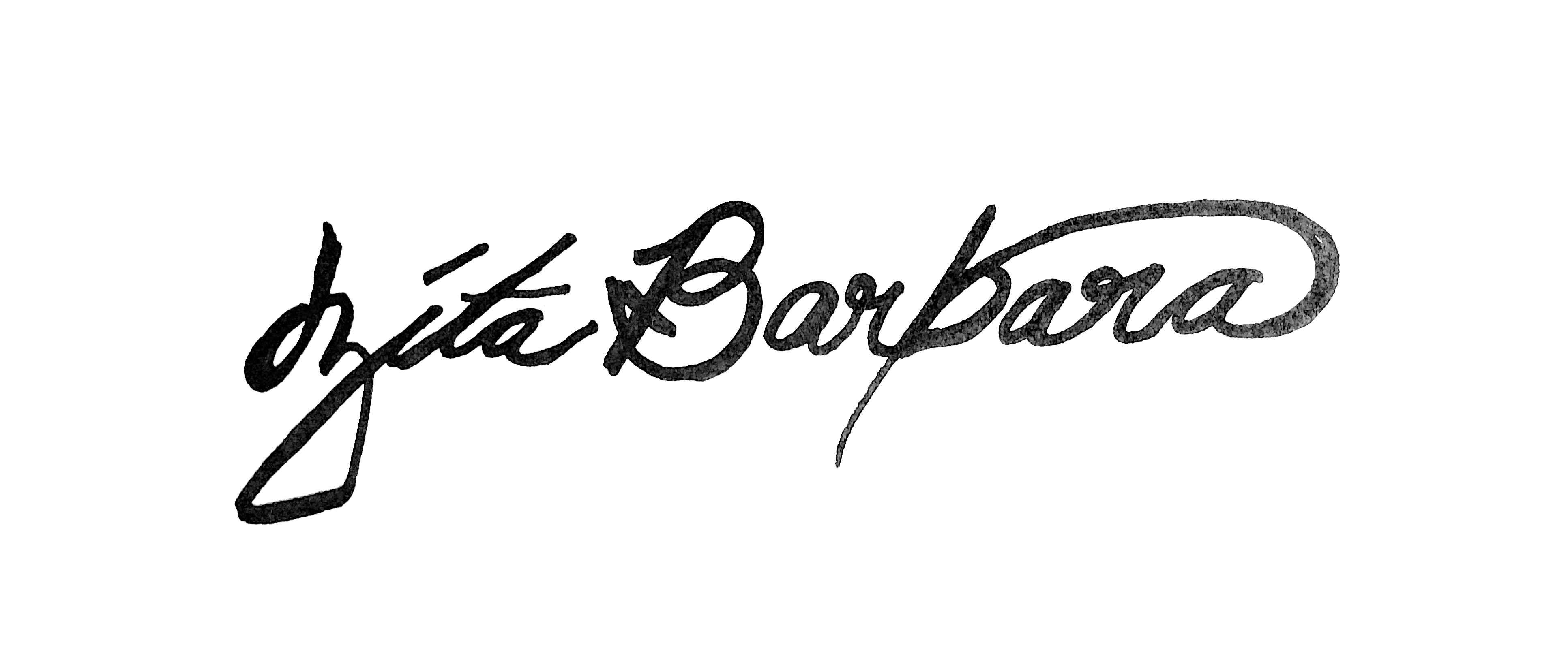 Zita Barbara's Signature