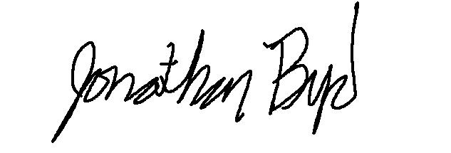 Jon Byrd's Signature