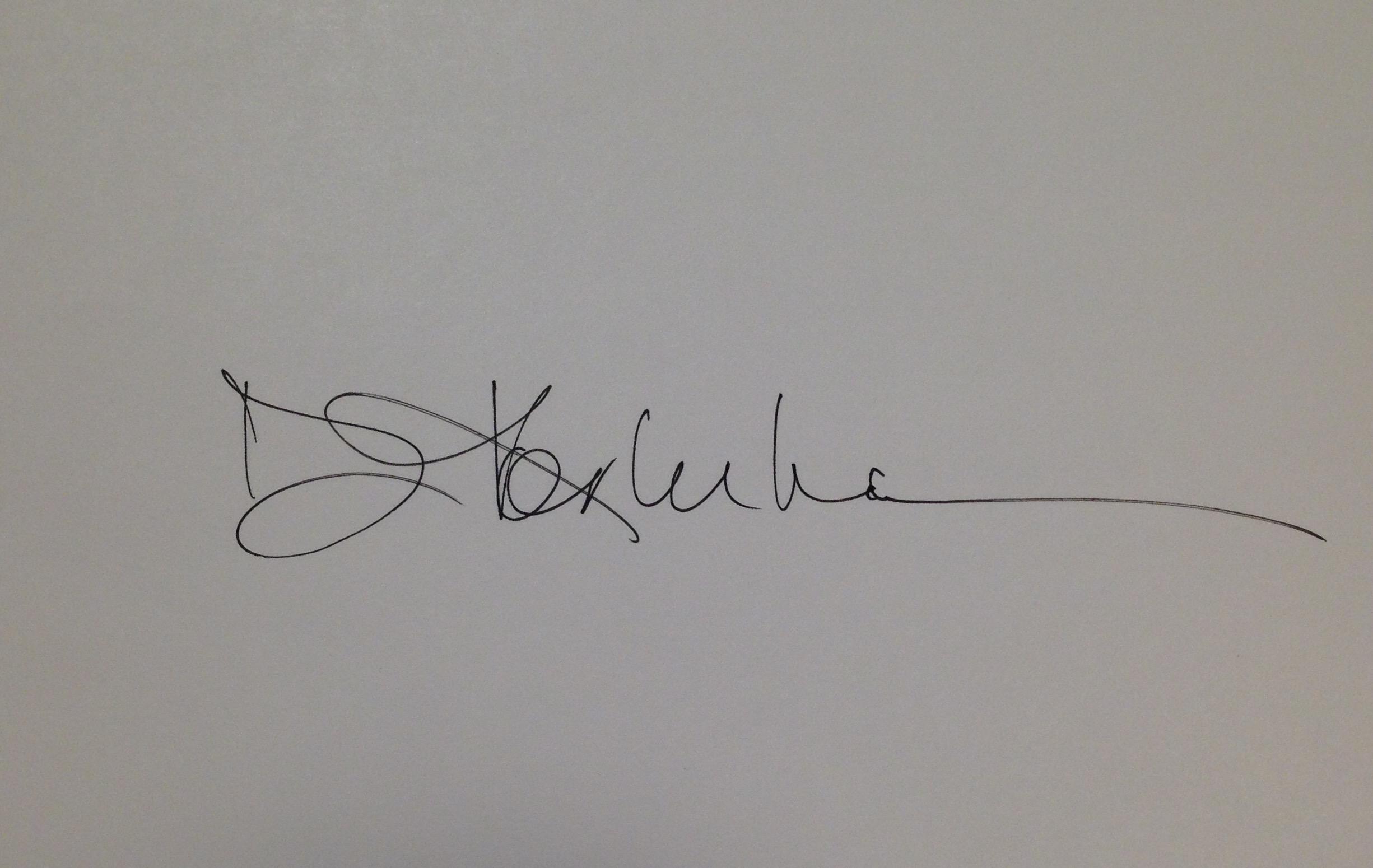 Debra Korluka's Signature
