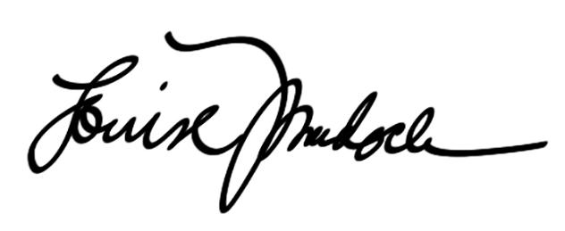 Louise Murdock's Signature