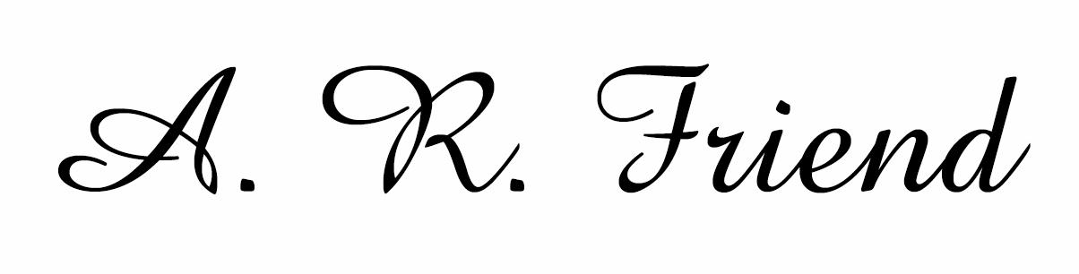 Alan Friend's Signature