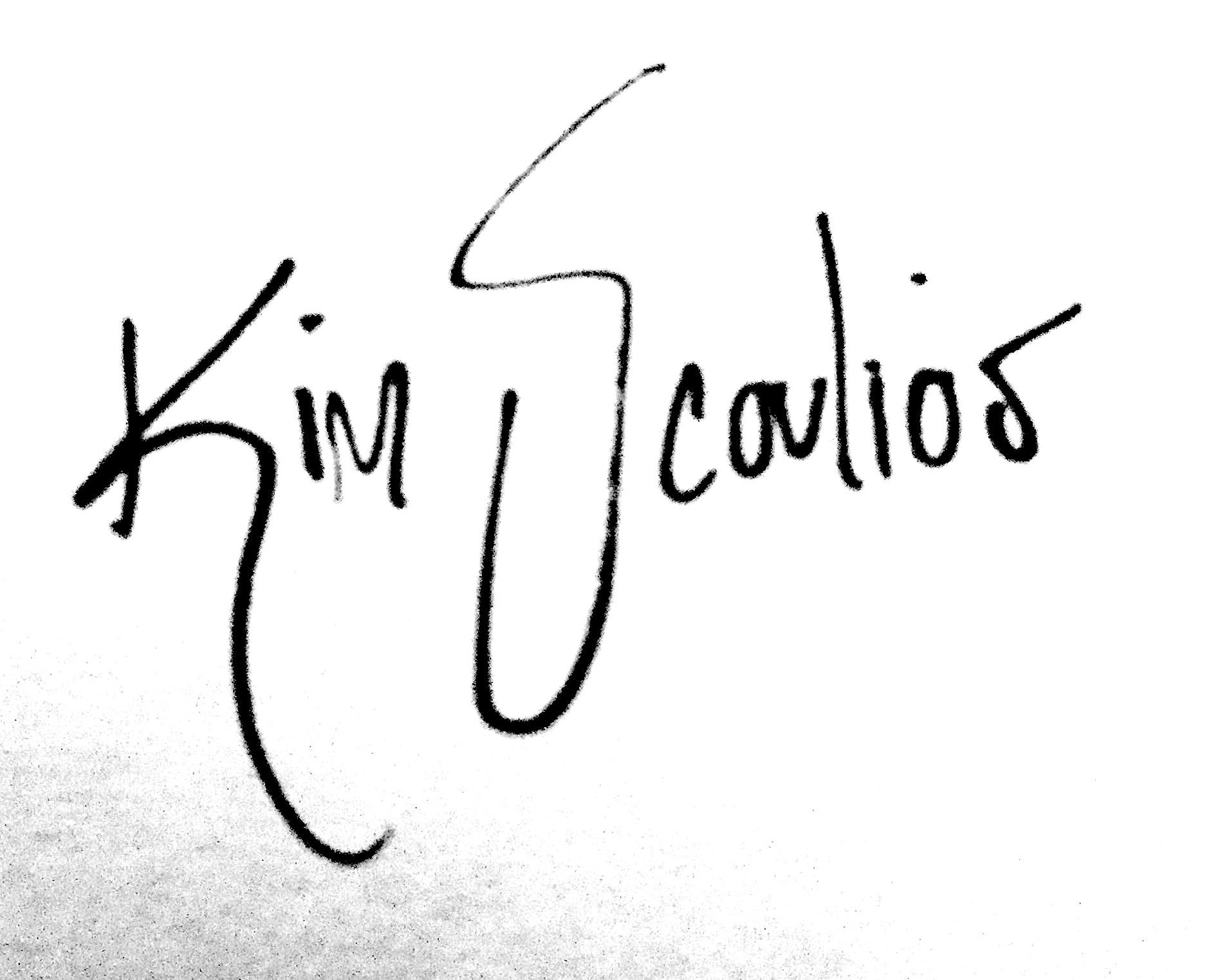 Kim Scoulios's Signature