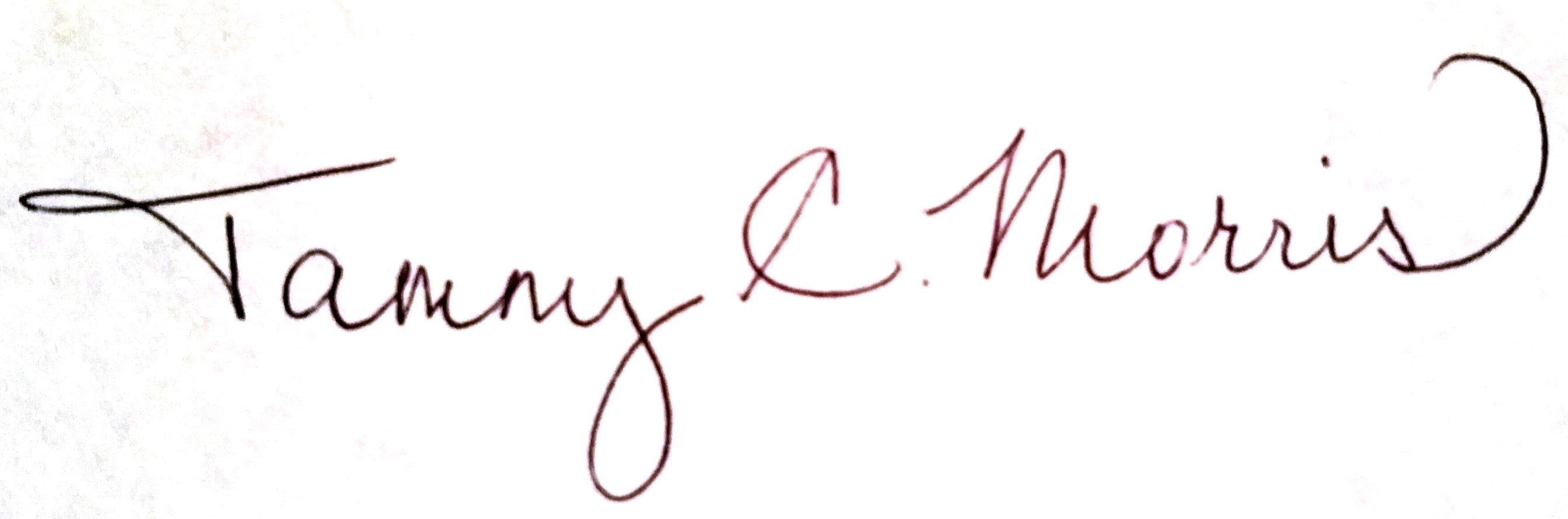 Tammy Morris's Signature