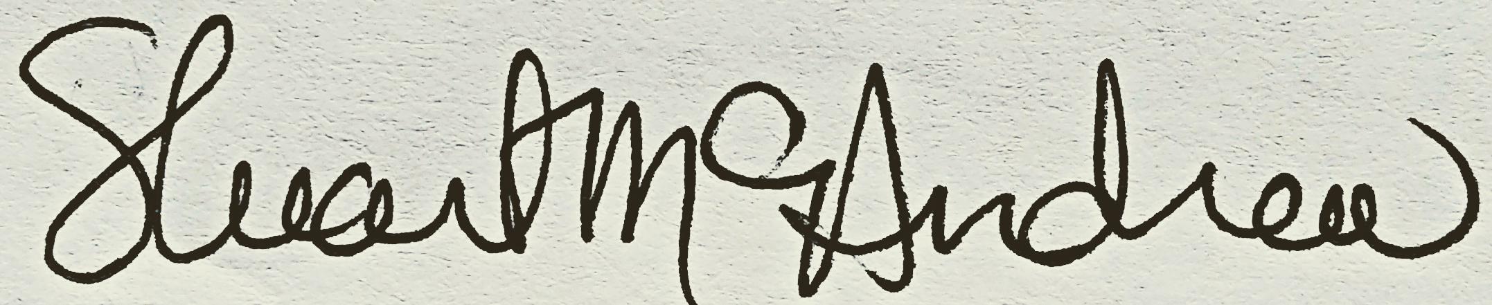 stuart mc andrew's Signature