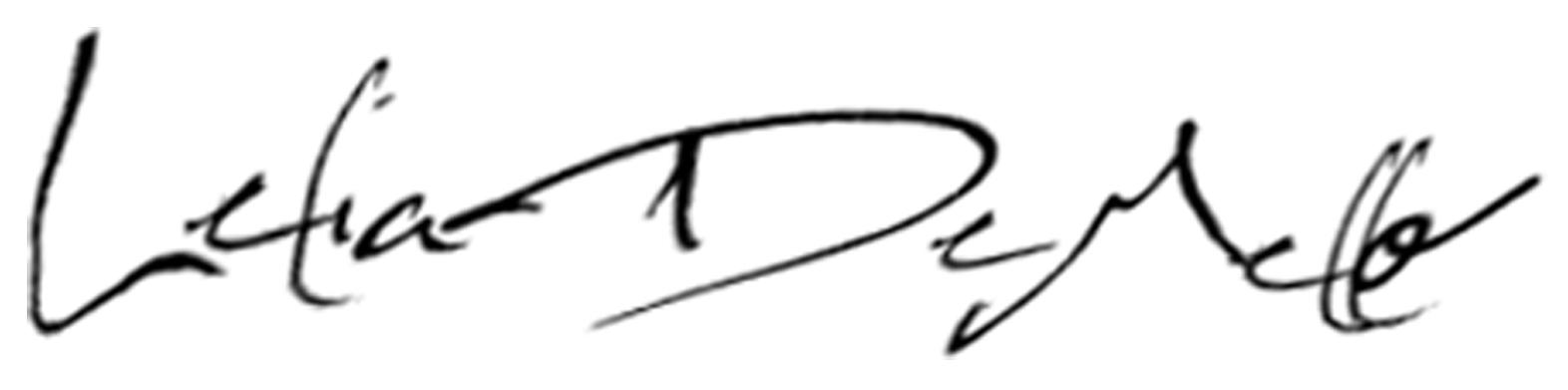Lelia DeMello's Signature