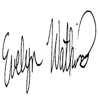 Evelyn WATKINS's Signature