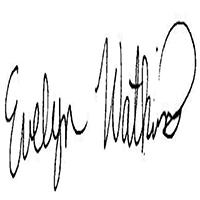 Evelyn WATKINS's Signature