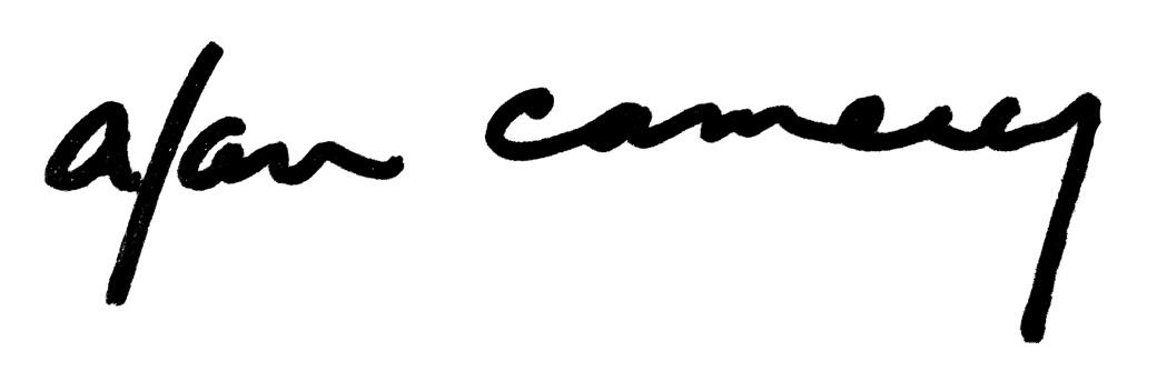 Alan Camerer's Signature