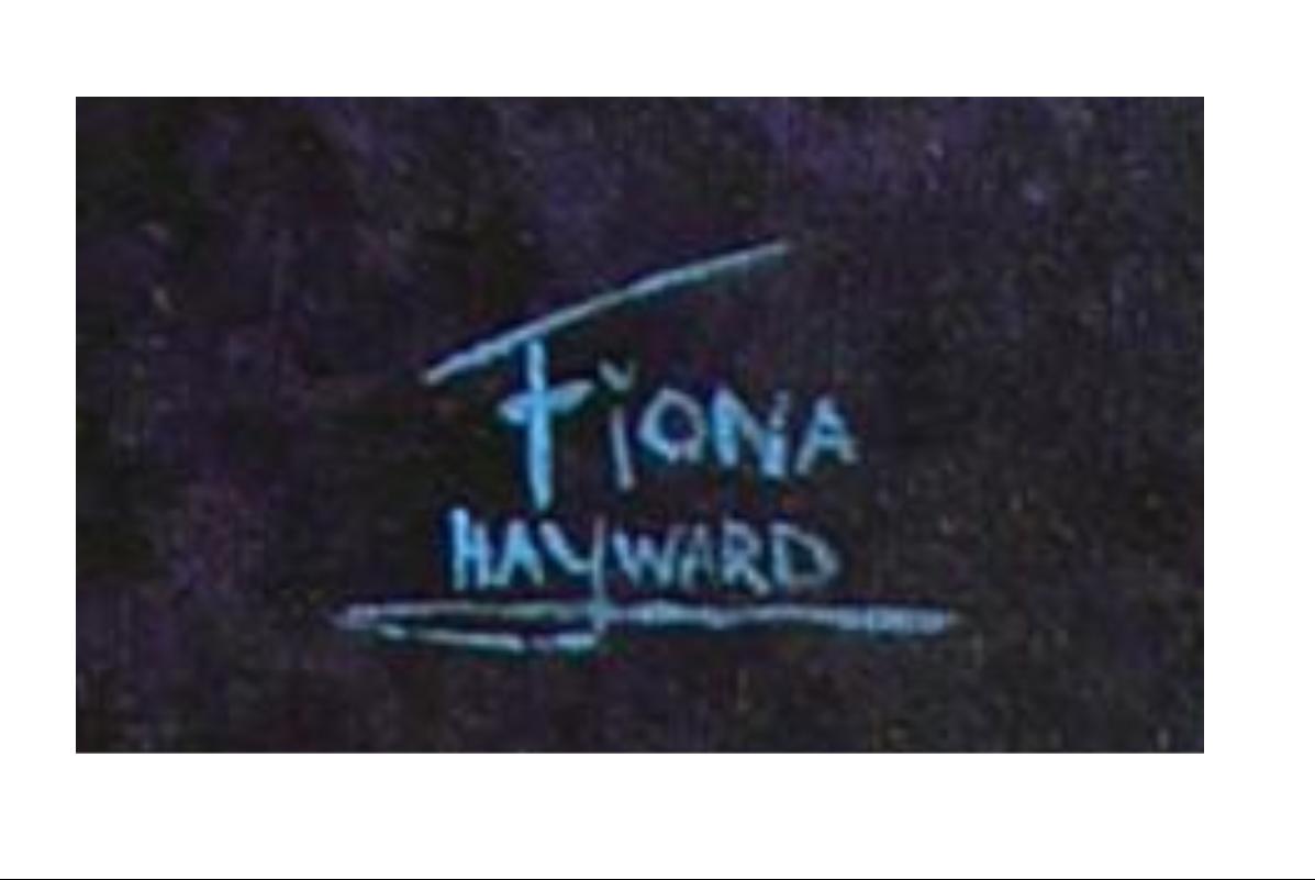 Fiona Hayward's Signature