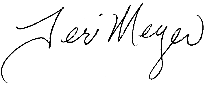 Teri Meyer's Signature