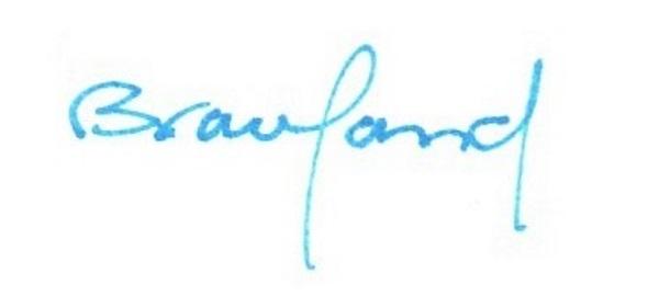 Kathy Braceland's Signature