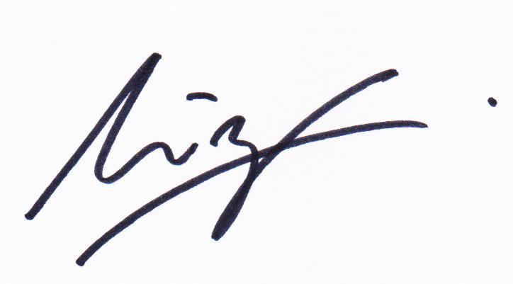 Mirzam Taiman's Signature