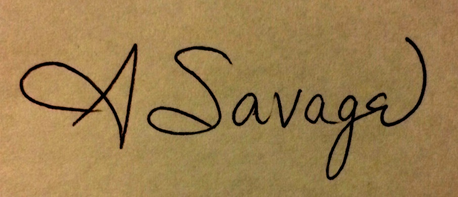 Annastaysia Savage's Signature