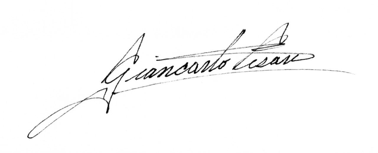Giancarlo Cesari's Signature