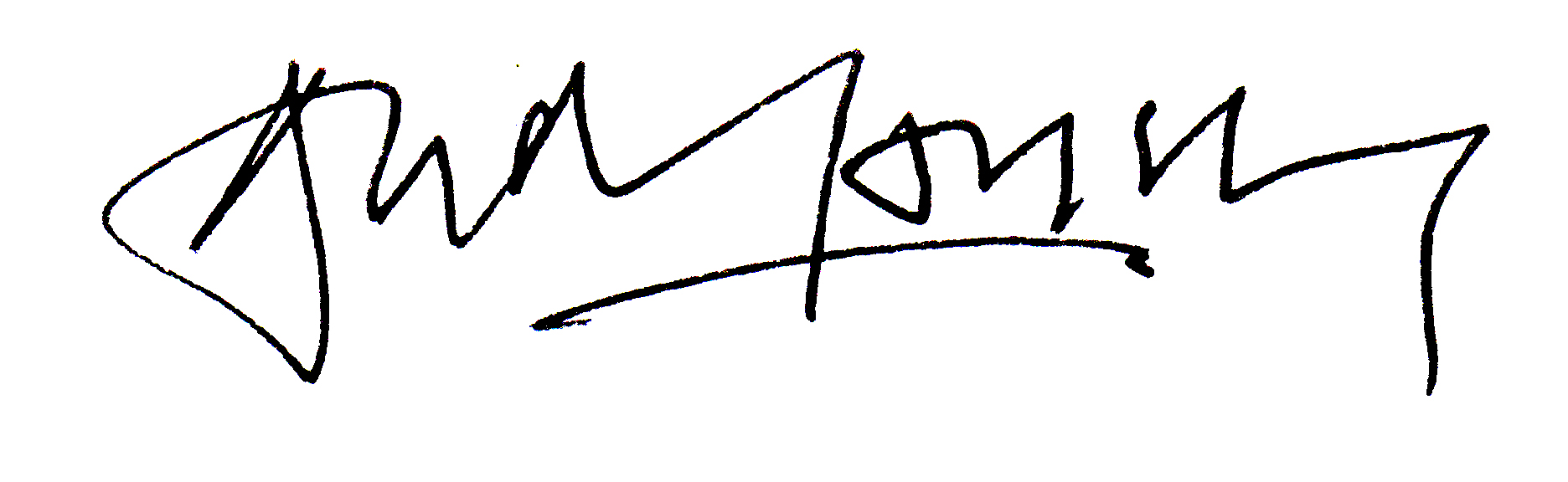 Andrew Lansley's Signature