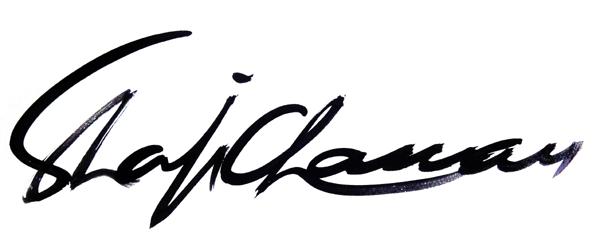 shafi chaman's Signature