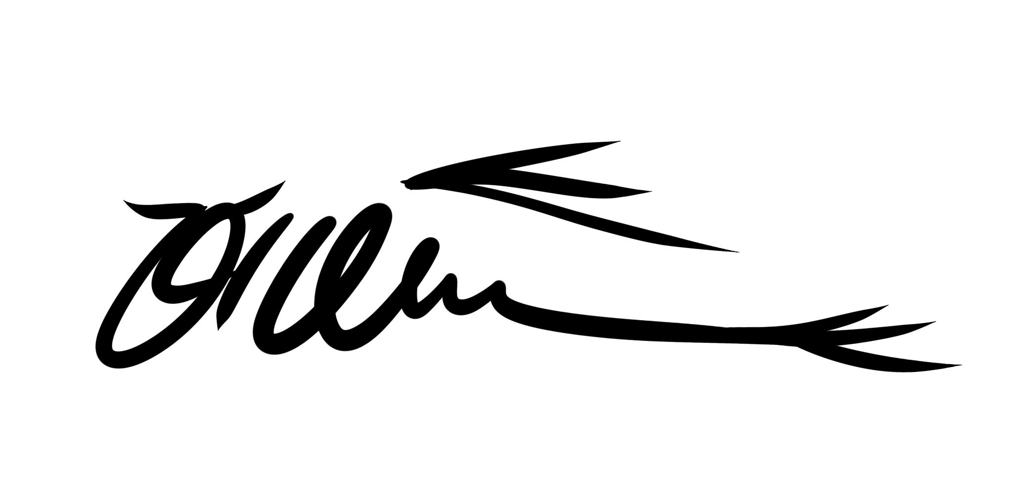 Edra Yahya's Signature