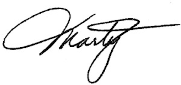 Marty Edmunds's Signature