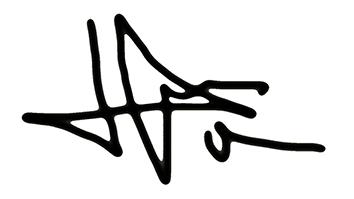 Lluïsa Díaz's Signature