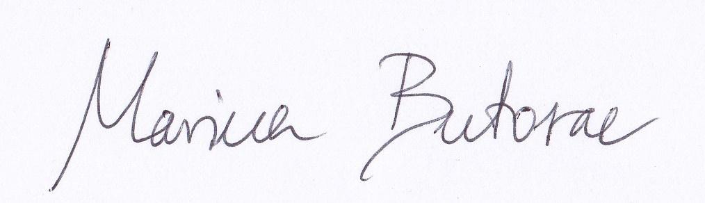 Marina Butorac's Signature