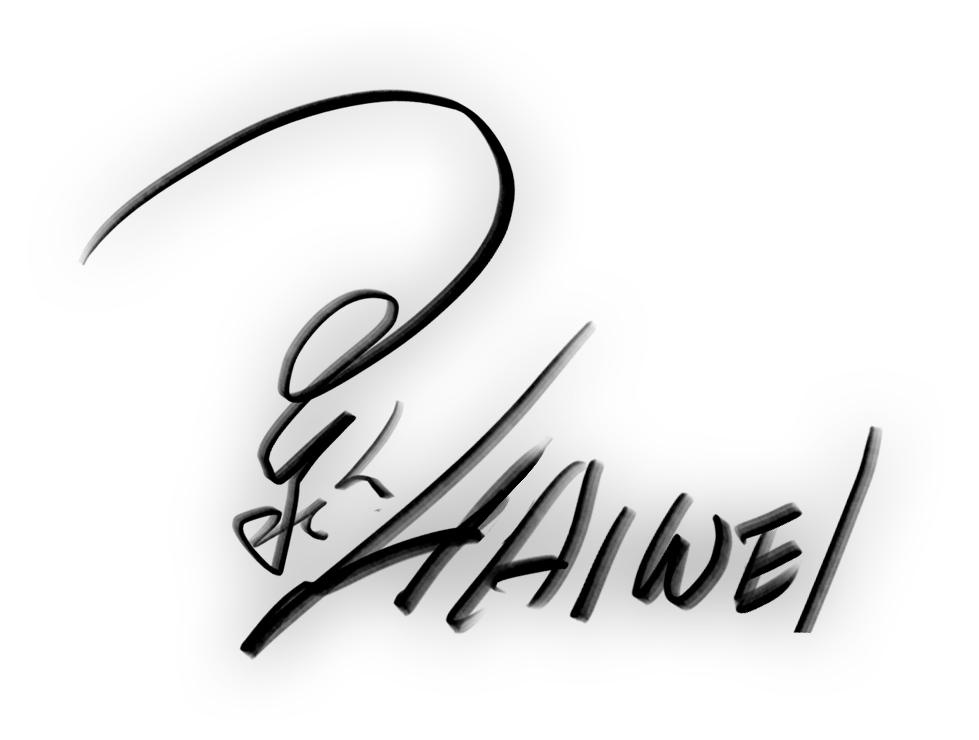 Haiwei Hou's Signature