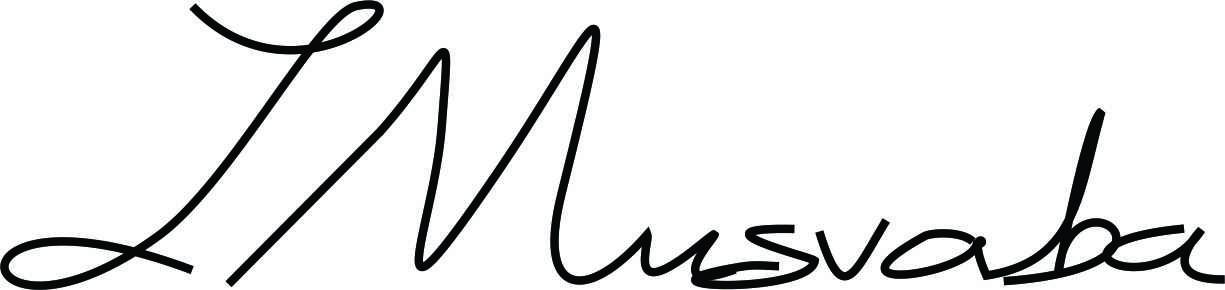 Jonathan Musvaba's Signature